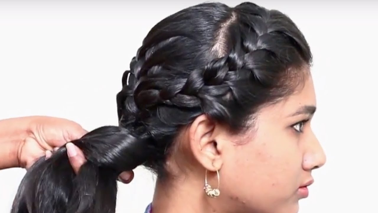 Best And Easy Hair Style For Medium Long Hair Step By Step