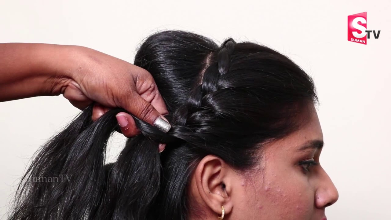 Back Bun Hairstyles For Partywedding New Hairstyles For Ladies