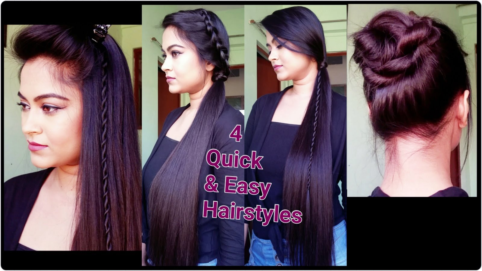best indian hairstyles for women//latest quick and easy